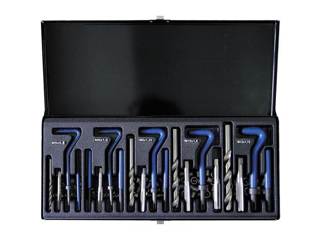Набор для восстановления резьбы Сорокин 40.60 (М5-М12) Сорокин Ручной Инструмент