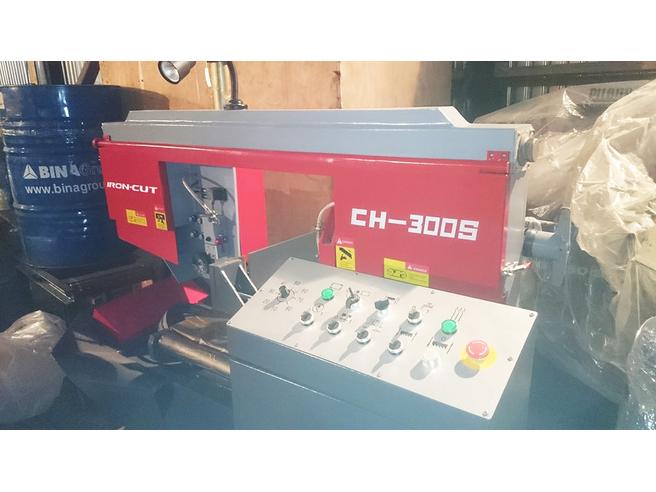 IRON-CUT CH-300S (g4230) Колонный полуавтоматический ленточнопильный станок IRON-CUT Полуавтоматические Ленточнопильные станки